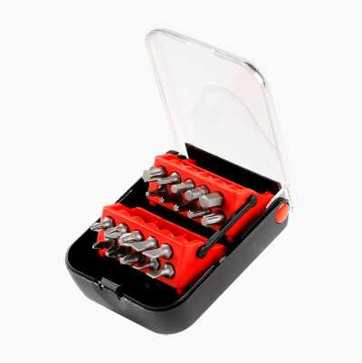 SCREWDRIVER BIT SET 20PCS