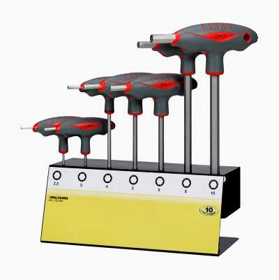 HEXAGONSET T-HANDLE7PCS 2.5-10