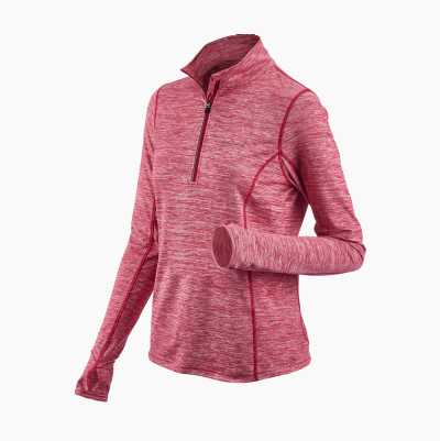 WOMAN HALFZIP DESIGN 2 SMALL