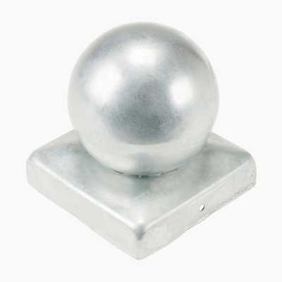 POST CAP BALL 91X91MM