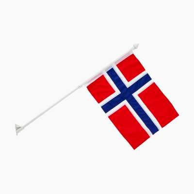 BALKONGFLAGG NORSK