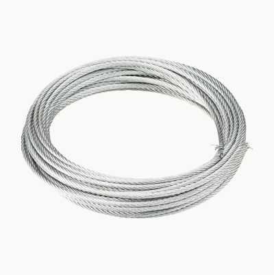 STEELWIRE 3MM ZINKPLATED 10M