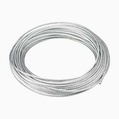 STEELWIRE 3MM ZINKPLATED 25M