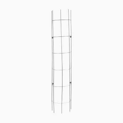 VERTICAL METAL TRELLIS BLACK