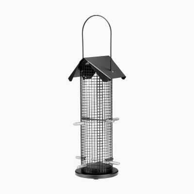 BIRD FEEDER BLACK