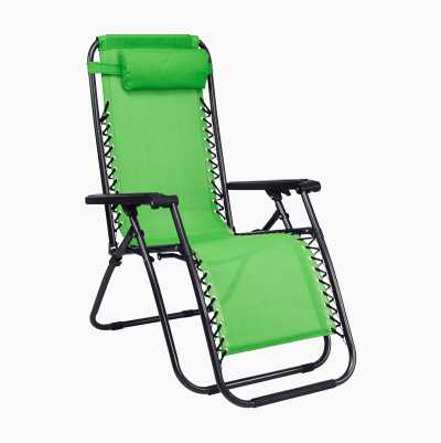 SUNBATHING CHAIR GREEN