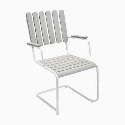 DINING WHITEPAINT CHAIR