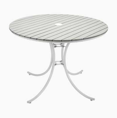 DINING WHITEPAINT TABLE