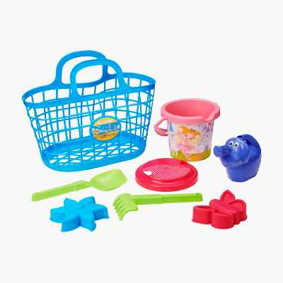 BASKET WITH PLAY SET