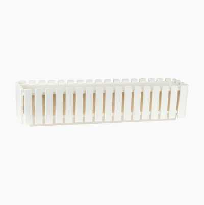FLOWER BOX L WHITE