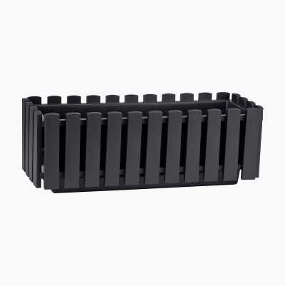 FLOWER BOX S ANTHRACITE