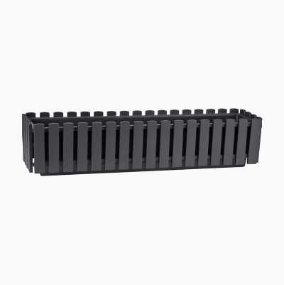 FLOWER BOX L ANTHRACITE