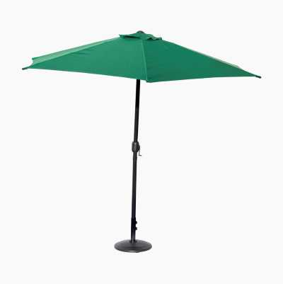 STRAIGHT UMBRELLA GREEN
