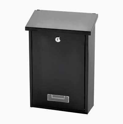 GROUND MAILBOX BLACK