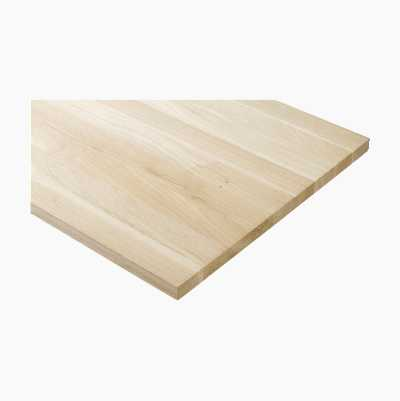 SHELF GLUEWOOD OAK 2100X300X18