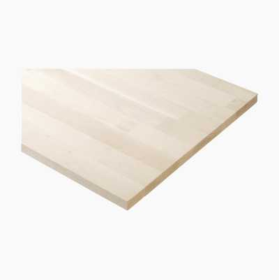 SHELF GLUEW. BEECH 2100X300X18