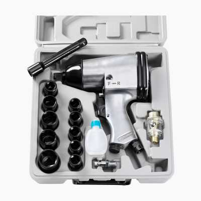 AIR IMPACT WRENCH SET 1/2""