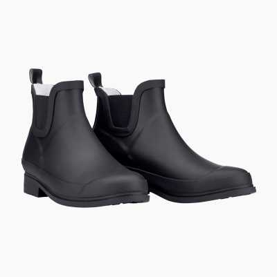 SHORT RUBBER BOOTS BLACK 36