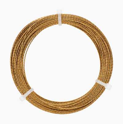 WINDSHIELD WIRE BRAIDED GOLD