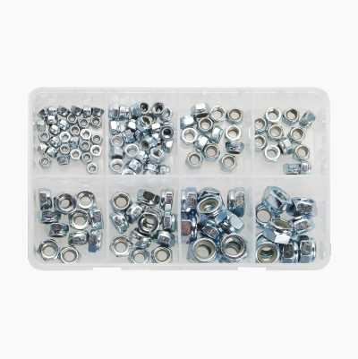 130-PCS LOCK NUT SET