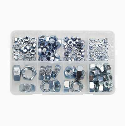 150-PCS HEX NUT SET