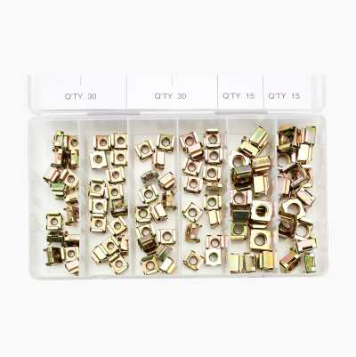 CAGE NUT SET 90PCS