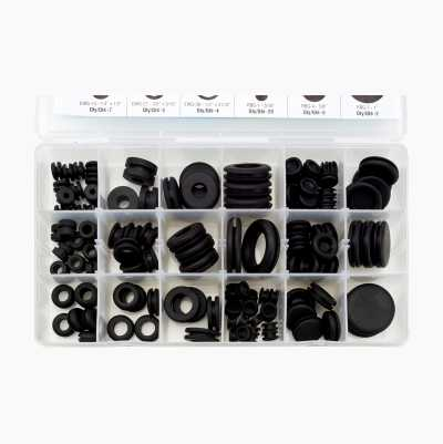 RUBBER GROMMETS 125PCS