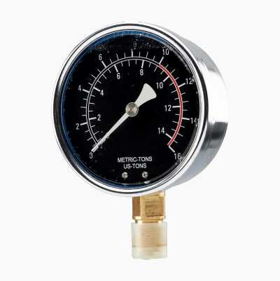MANOMETER 10 TONS