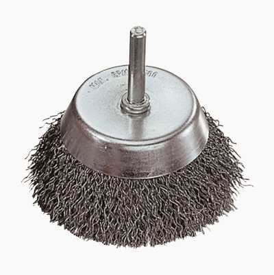 CIRCULAR BRUSH WITH SHAFT