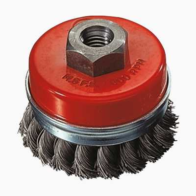 CUP BRUSH 95MM