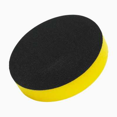 POLISH SPONGE  125MM YELLOW