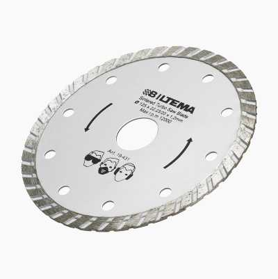 DIAMOND WHEEL CUTTER 125MM TUR