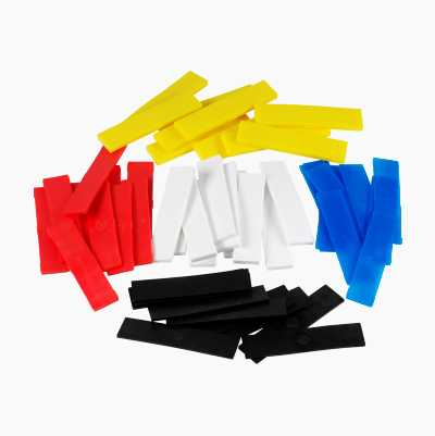 SHIMS  BLANDAT SET  5 X 10 ST.