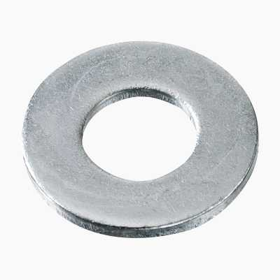 100PCS FLAT WASHER 6,4X12MM
