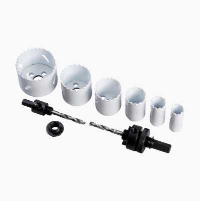 HOLE SAW KIT PLUMBER 9PCS