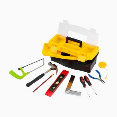 TOOLBOX MINI   INCL.9PCS TOOLS
