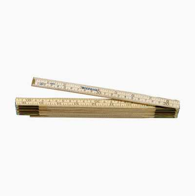 FOLDABLE RULER 2M METRIC/INCH