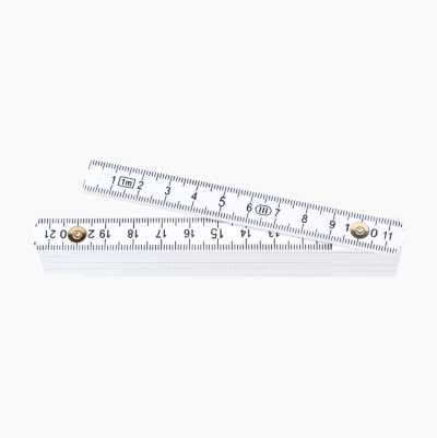 FOLDABLE RULER 1M METRIC PLAST