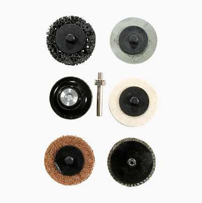 "ABRASIVE 2"" SURFACE PREP KIT"