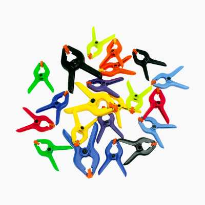 MINI SPRING CLAMP 22PCS