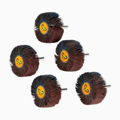 SHANK FLAP WHEEL 5PCS