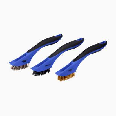 WIRE BRUSH SET - 3 PCS -200 mm