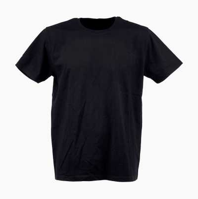 T-SHIRT COMBED BLACK S