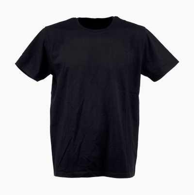 T-SHIRT COMBED BLACK L