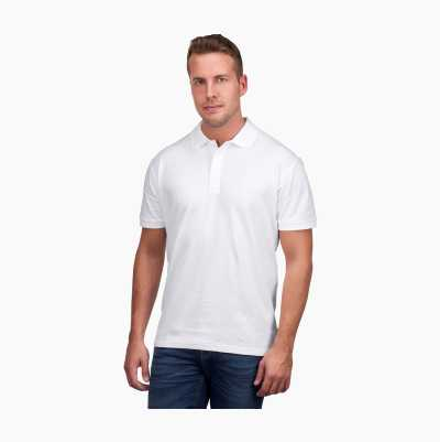 POLO SHIRT WHITE L