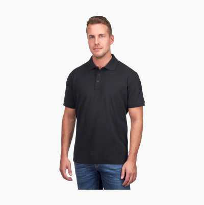 POLO SHIRT BLACK XXL