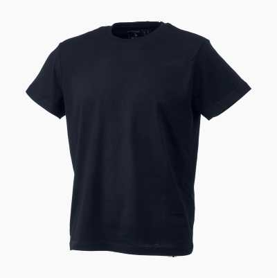 T-SHIRT COMBED BLACK M