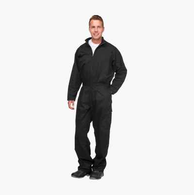 COVERALL 245 GR BLACK S