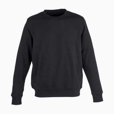 SWEATSHIRT BLACK XXLARGE