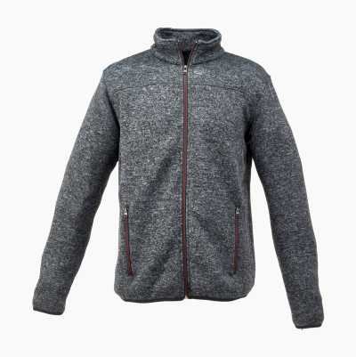FLEECEJACKET GREY MEL LARGE